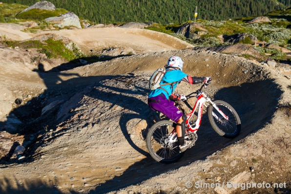 Åre Bike Park, Sweden. Photo: Simen Berg / Bergphoto.net