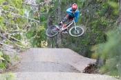 Brage Vestavik, Rollercoaster, Hafjell Bike Park. Foto: Simen Berg